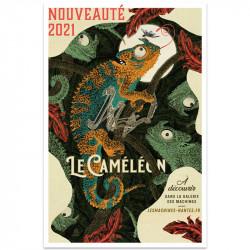 Affiche Caméléon 80x120