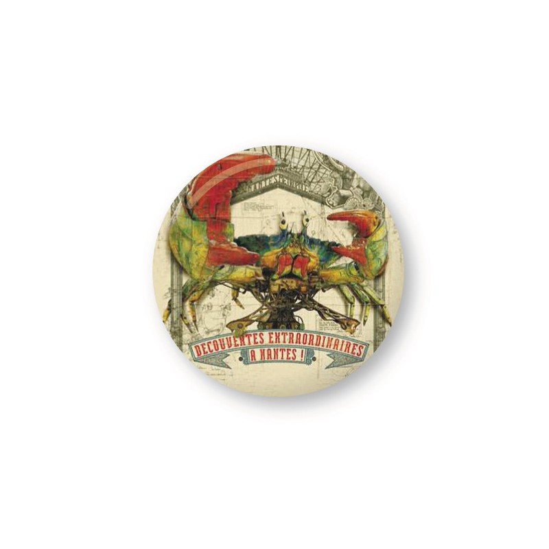 GRAND BADGE CRABE GEANT