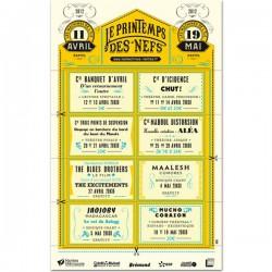 GRANDE AFFICHE PRINTEMPS 2012