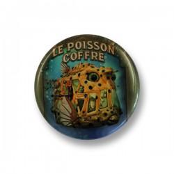 GRAND BADGE POISSON COFFRE
