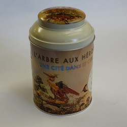 BOITE A THE - ARBRE AUX HERONS