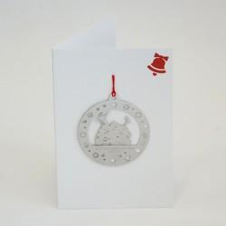 Carte Décoration de noël - Arbre