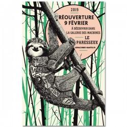 Affiche Paresseux 80x120
