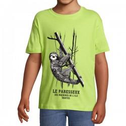 T-SHIRT PARESSEUX - Enfants
