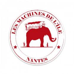 STICKER DES MACHINES - ROUGE