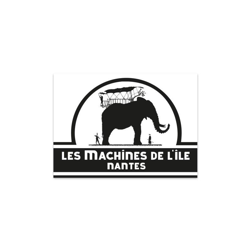 STICKER DES MACHINES - NOIR