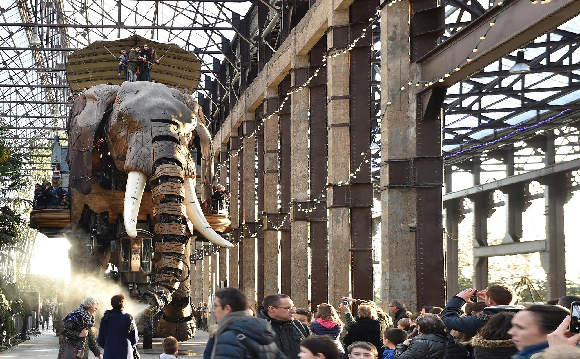 Eléphant des machines de l'ile